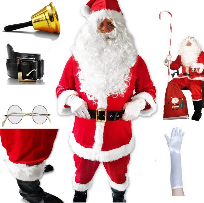 božični kostum set