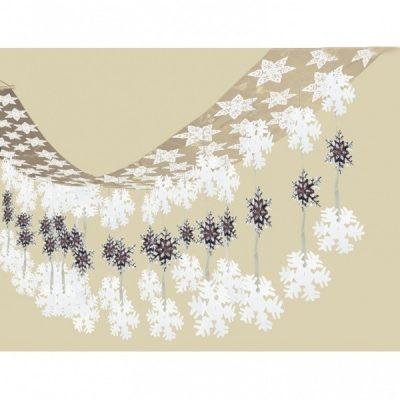 viseča dekoracija sneg